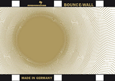 BOUNCE WALL reflecteur galaxy or/blanc