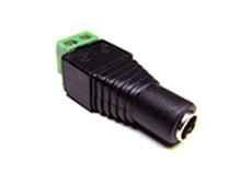 CONNECTEUR LED JACK 2.1mm MALE A VISSER