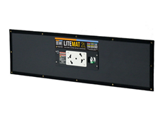 LITEMAT TWO LONG HYBRYD KIT COMPLET inclus dimmer et alimentation